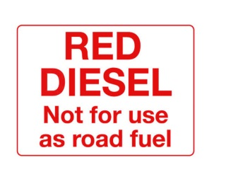 Who can use red diesel cubitron 3m 982c