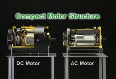 Ac Drive Motor For Forklift Trucks